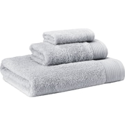 Enchante Home 3 Piece Towel Set; Silver