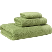 Enchante Home 3 Piece Towel Set; Green