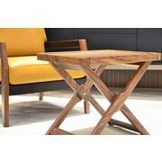 Argo Furniture Coronado Marchetti End Table; Walnut