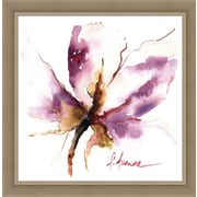Ashton Wall D cor LLC In Bloom 'Blooms Hermanas I' Framed Painting Print