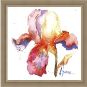 Ashton Wall D cor LLC In Bloom 'Blooms Hermanas II' Framed Painting Print