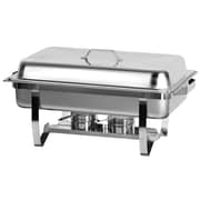 Atosa Full Size Chafing Dish with Stainless Steel Pan and Lift-Up Lid