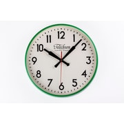 Control Brand 11.5'' Green Corby Clock (G131512GRN)
