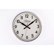 Control Brand 11.5'' Silver Corby Clock (G131512SILVER)