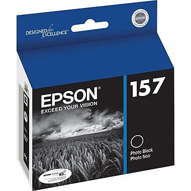 Epson – Cartouche d'encre noire photo 157 (T157120)