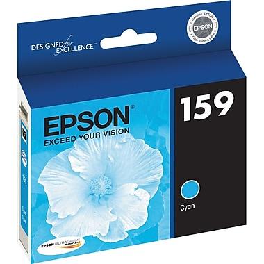 Epson 159 Cyan Ink Cartridge, (T159220)