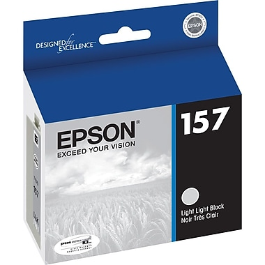 Epson 157 Light Black Ink Cartridge, (T157920)