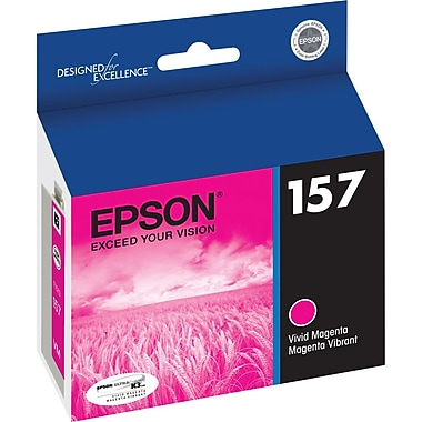 Epson 157 Vivid Magenta Ink Cartridge, (T157320)