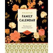"Polestar Family Planner Calendar, 10"" x 8"", Floral"