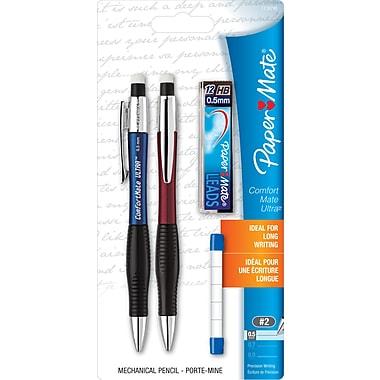 Papermate® Comfortmate Ultra Mechanical Pencil Starter Set, 0.5mm
