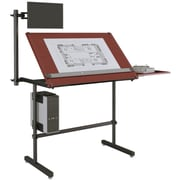 "Versa Tables Laminated Wood  Drafting Table Basic  48"" x 30"" Cherry (SPB20248300102)"