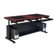 "Versa Tables Downview Adjustable Leg  60"" x 30"" Computer Desk Cherry  (SP10560300102)"