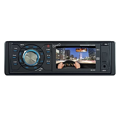 Supersonic® SC-312 Car DVD Player with 3