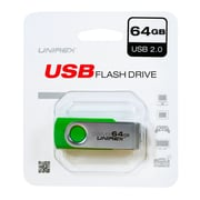 Unirex 64GB USB 2.0 Flash Drive (usfs-264)