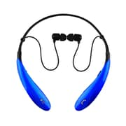 Supersonic iq-127bt-blu Earbuds Headphones with Mic, Blue