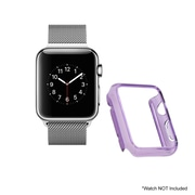Mgear Accessories Polycarbonate Protective Cover, Purple (apple-watch-cover-pur)
