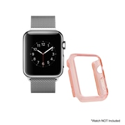 Mgear Accessories Polycarbonate Protective Cover, Red (apple-watch-cover-red)