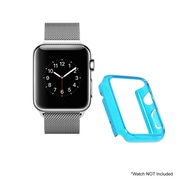 Mgear Accessories Polycarbonate Protective Cover, Blue (apple-watch-cover-blu-38)