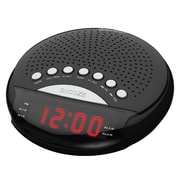 "Supersonic Dual Alarm Clock Radio, 5.74"" x 6.18"" x 2.32"" (sc-380)"