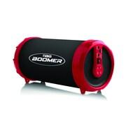 Naxa nas-3071-red Boomer Bluetooth Portable Speaker, Red