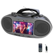 Naxa ndl-256 Boombox Bluetooth DVD Player, Black