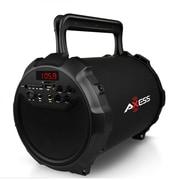 Axess spbt1036 Hifi Bluetooth Portable Speaker, Black