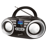 Supersonic Portable Audio System, 100 - 240 V, Black (sc-506-bk)