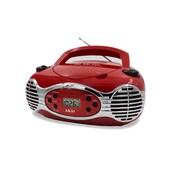 Akai ce2200r Boombox Radio, Red