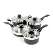 Oster 8-Piece Cookware Set, Black (91335.08)