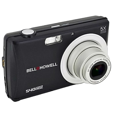 Image of Bell & Howell s40hdz-gry 16 Megapixel Digital Camera, 5x-6x, Gray