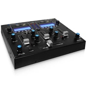 Technical Pro Table Top 2CH Dual USB/SD Card Mixer, 12 V (dj2usb)
