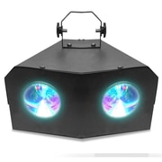 Technical Pro Professional DJ Multi Beam 128 LED Dual Lens Light with DMX, 110/220 V (lg128x2)