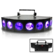 Technical Pro Professional DJ Multi Beam LED 7 Way Light with DMX, 110 V (lg700x)