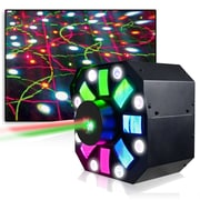 Technical Pro Professional DJ Multi Pattern Laser and LED Stage Effect Light with DMX, 110/220 V (lgmegax)