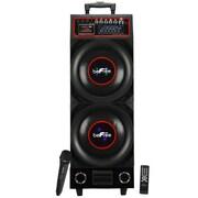 beFree Sound bfs-8000 Bluetooth Portable Speaker, Black