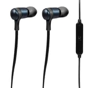 Craig cbh-515-blk Stereo Earbuds Earphones with Mic, Black