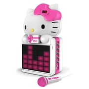 Hello Kitty CD+G Karaoke System, Multi Color (kt2008b)