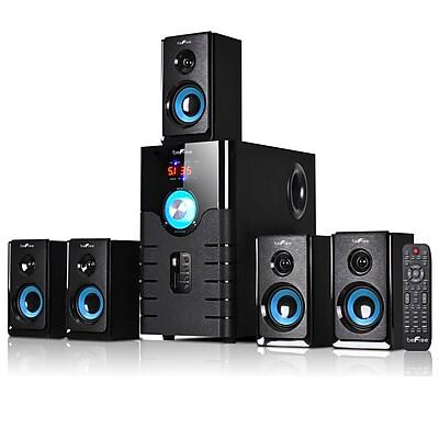 BeFree Sound Bluetooth Speaker System bfs 500 50 W 15 W x 5 Blue