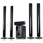 BeFree Sound Bluetooth Speaker System, bfs-910, 100 W & 18 Wx5, 50 W & 15 Wx5