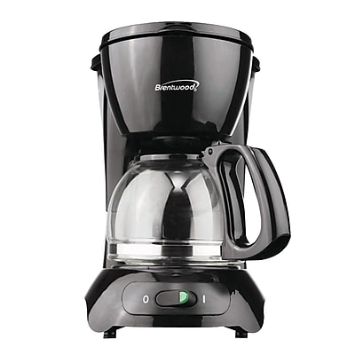 Brentwood ts-213bk Coffee Maker, 4 Cup 2120713