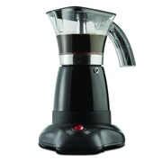 Brentwood ts-118bk Moka Expresso Maker, 3 - 6 Cup