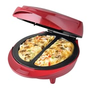 Better Chef Electric Double Omelette Maker, Red, 6/Case (IM-477R)