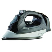 Brentwood Steam Iron with Retractable Cord, Black, 6/Pack, (MPI-59BK)
