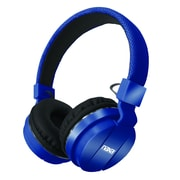 Naxa ne-942-blue Stereo Over-Ear Headphones with Mic, Blue
