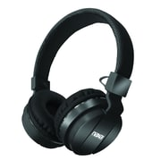 Naxa ne-942-black Stereo Over-Ear Headphones with Mic, Black