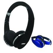 Naxa ne-941-black On-Ear Headphones with Mic, Black