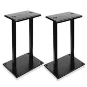 Pyle pstnd18 Telescoping Bookshelf/Monitor Speaker Stand, Black