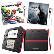 Nintendo Red Mario Kart 7 Bundle (93726)