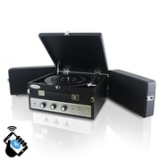 PyleHome Retro Vintage Classic Style Bluetooth Turntable Record Player, 110 V (pltt82btbk)