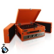 PyleHome Retro Vintage Classic Style Bluetooth Turntable Record Player, 110 V (pltt82btor)
